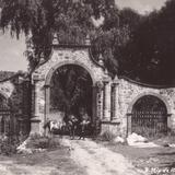 Entrada a una hacienda en San Miguel de Allende
