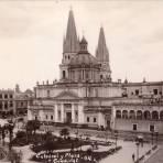 Catedral y Plaza de Armas de Guadalajara Jalisco