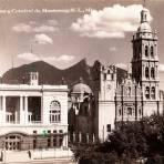 Casino y Catedral del Monterrey