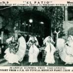 Danzantes típicas de Tehuantepec, en el Salón El Patio