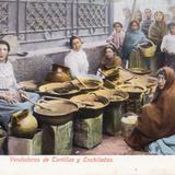 Vendedoras de tortillas y enchiladas