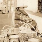 Vendedor de canastas en Irapuato