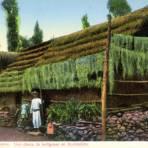 Una choza de indígenas en Xochimilco
