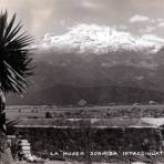 Volcán Iztaccíhuatl, La Mujer Dormida