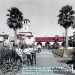 Entrada principal al Hotel Playa