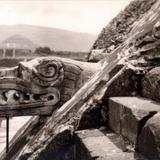 Detalle del Templo de Quetzalcoatl