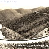 Cuesta de Mamulique. Carretera Nacional México-Laredo
