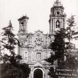 Notable Templo de San Francisco Acatepec