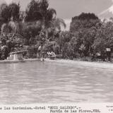 Alberca de Las Gardenias. Hotel Ruiz Galindo