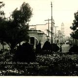 Parque Central y Calle de Victoria