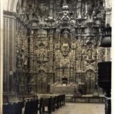 Interior del Templo de Tepotzotlán