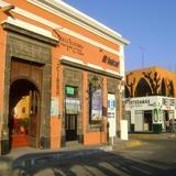 Arquitectura colonial en el centro de Tequila. Noviembre/2011