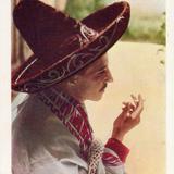 Un caballero fumando
