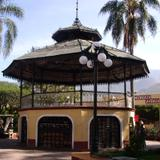 Kiosco central Parque Hidalgo