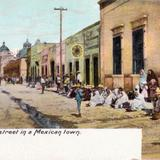 Una calle mexicana