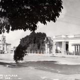 Costado de la plaza