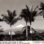 El Pico de Orizaba visto desde la Casa de los Alvarez