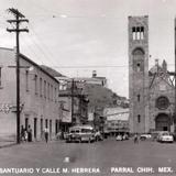 Santuario y Calle M. Herrera
