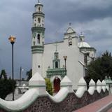 Iglesia del centro del pueblo de Acolman