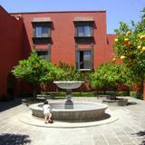 Patio de los Naranjos en la ex-hacienda Galindo, Qro. Marzo/2012