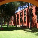 Arco y jardines de la Hacienda Galindo. Marzo/2012