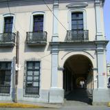 Arquitectura colonial en el centro histórico de Córdoba. Abril/2012