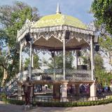 Kiosko en el Jardín de San Marcos