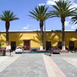 Arquitectura colonial en el centro de Cadereyta de Montes. Marzo/2012