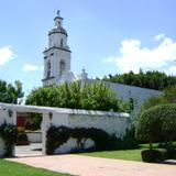 Capilla construida en el siglo XVII en Ex-hacienda Galindo. Marzo/2012