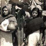 Señoritas en San Juan Teotihuacán
