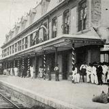 Estación del Ferrocarril en Matías Romero (antiguamente Rincón Antonio)
