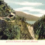 Barranca del Infiernillo y ferrocarril mexicano