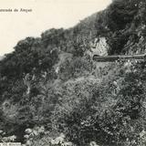 Cascada de Atoyac y ferrocarril mexicano
