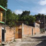 Calle Agustín Abundez, centro de Huitzuco. Julio/2012
