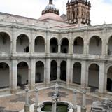 Patio museo de Santo Domingo