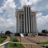 Torre de PEMEX en el Puerto de Veracruz. Julio/2012