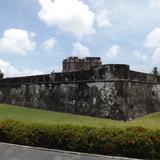 Museo Baluarte de Santiago en el Puerto de Veracruz. Julio/2012