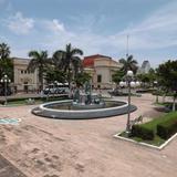 Plaza de la República y Edificio de la aduana. Julio/2012
