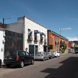 Calle Allende y el Palacio Legislativo de Tlaxcala. Septiembre/2012
