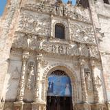 Portada plateresca del ex-convento del siglo XVI. Noviembre/2012