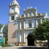 Fachada del templo de Santiago Apostol. Ciudad Huitzuco. Diciembre/2012