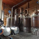 Destiladoras en la ex-hacienda Corralejo. Noviembre/2012