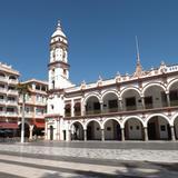 Palacio municipal y centro de Veracruz. Enero/2013