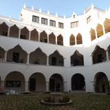 El edificio de la Universidad Autónoma de Yucatán. Abril/2013