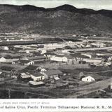 Vista panorámica de Salina Cruz