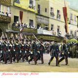 Fiestas del Centenario: Almunos del Colegio Militar