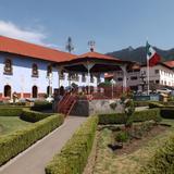 Plaza central de Mineral del Chico, Hgo. Mayo/2013