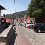 Llegando al pueblo mágico de Mineral del Chico, Hgo. Mayo/2013