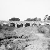 Acueducto de Chihuahua (por William Henry Jackson, c. 1888)