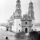 Catedral de Chihuahua (por William Henry Jackson, c. 1888)